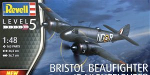 Bristol Beaufighter IF Nightfighter in 1:48 von Revell #03854
