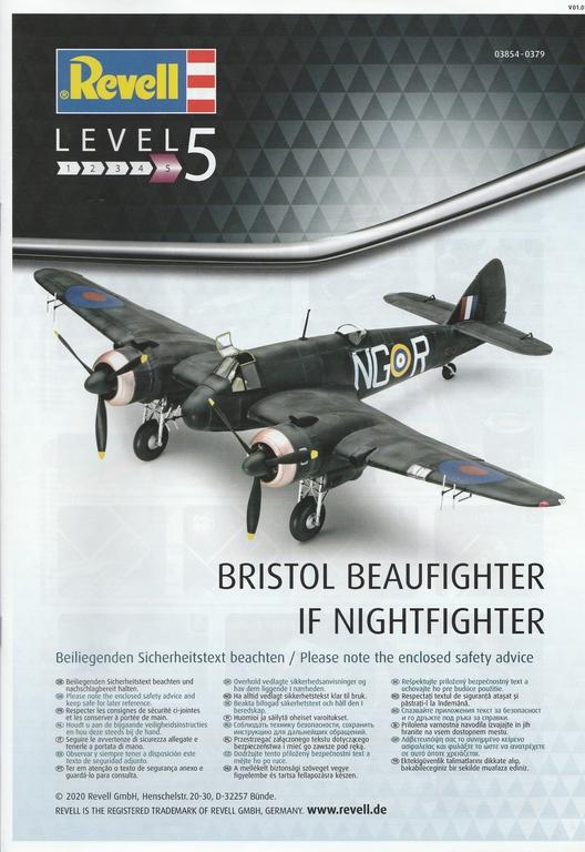 Revell-03854-Bristol-Beaufighter-IF-Nightfighter-53 Bristol Beaufighter IF Nightfighter in 1:48 von Revell #03854