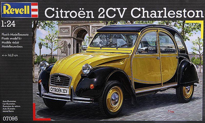 Revell-07653-Citroen-2CV-COCORICO-24 Citroen 2CV in 1:24 von Revell # 07653