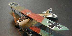 Gebaut: Albatros D. III in 1:48 von Revell
