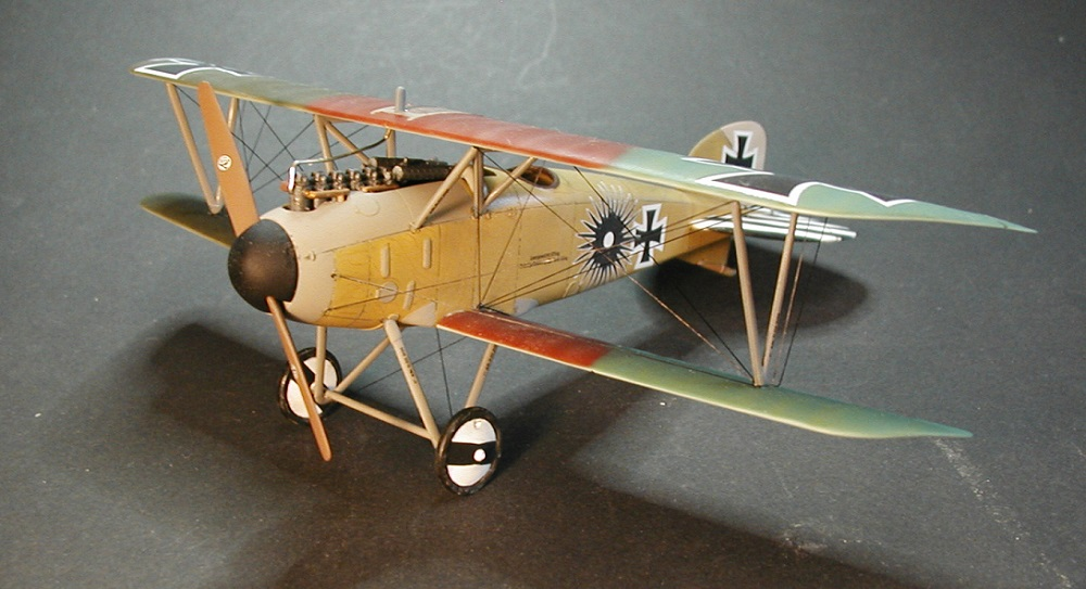 Revell-Albatros-D.-III-gebaut-6 Gebaut: Albatros D. III in 1:48 von Revell