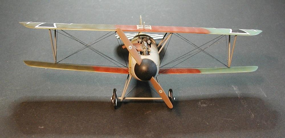 Revell-Albatros-D.-III-gebaut-7 Gebaut: Albatros D. III in 1:48 von Revell