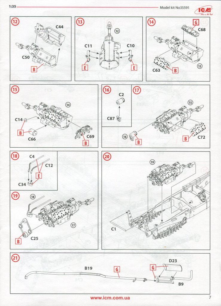Review_ICM_BM13_WOT_53 BM-13-16 on W.O.T. 8 Chassis (WWII Soviet MLRS) - ICM 1/35