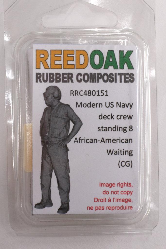 Review_Reedoak_Carrier-Crew_13 Carrier Deck Crew (verschiedene Figuren) - Reedoak - 1/48