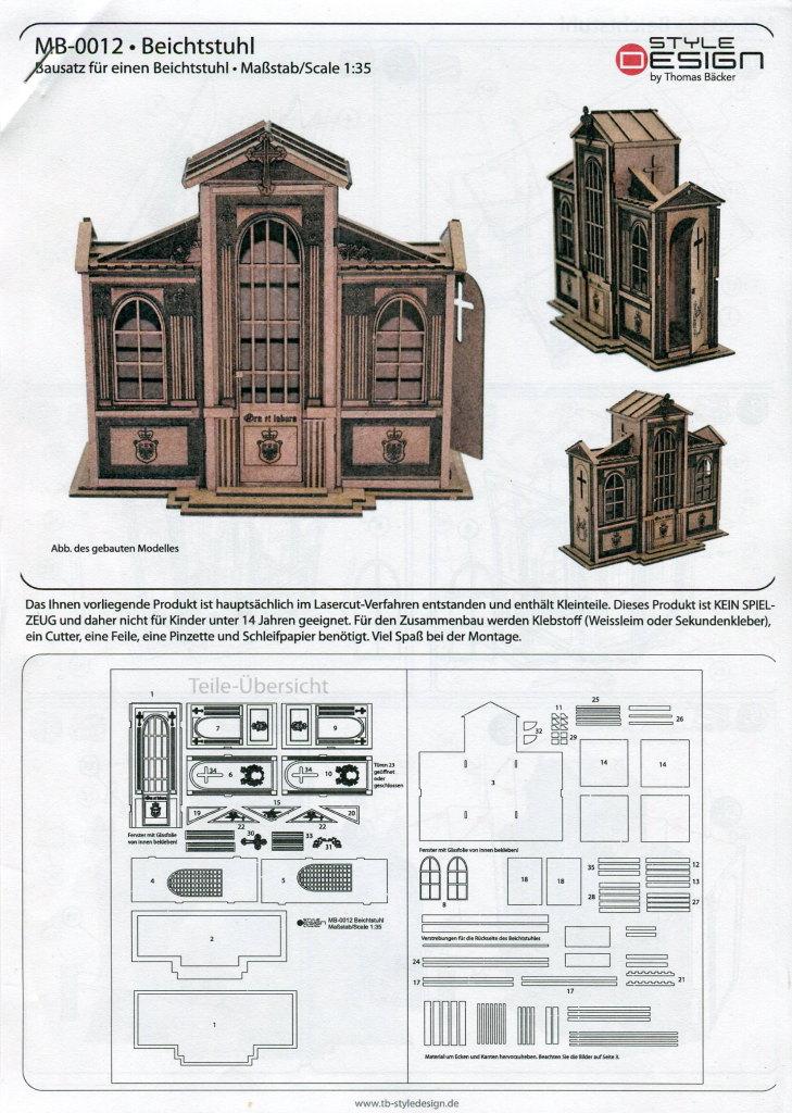 Review_Style_Design_Beichtstuhl_02 Beichtstuhl - Style Design 1/35