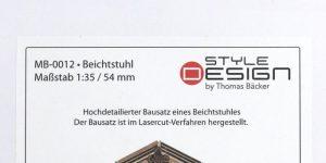 Beichtstuhl – Style Design 1/35