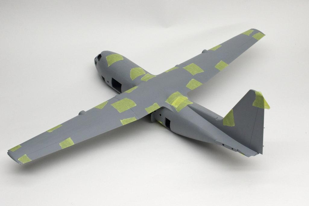 Review_Zvezda_C-130H_55 C-130H Hercules - Zvezda 1/72