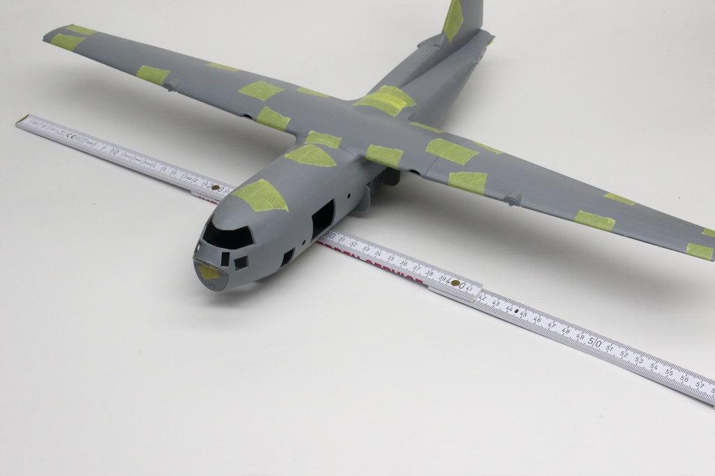 Review_Zvezda_C-130H_64 C-130H Hercules - Zvezda 1/72
