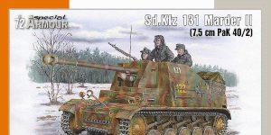 Sd.Kfz 131 Marder II in 1:72 von Special Armour # 72020