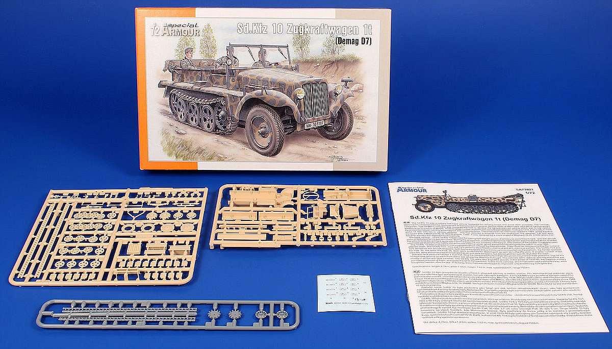 SpecialArmour-SA-72021-Sd.Kfz-10-11 Sd.Kfz 10 in 1:72 von Special Armour # SA72021