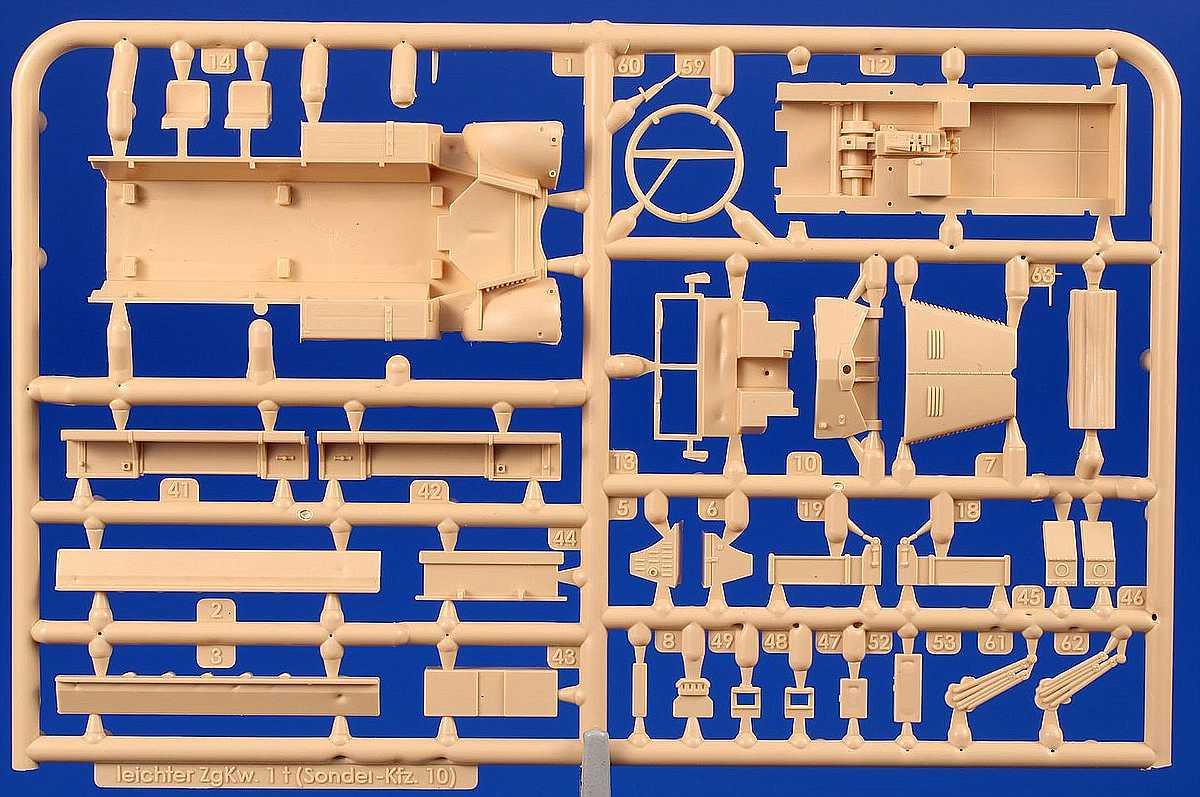 SpecialArmour-SA-72021-Sd.Kfz-10-13 Sd.Kfz 10 in 1:72 von Special Armour # SA72021