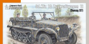 Sd.Kfz 10 in 1:72 von Special Armour # SA72021