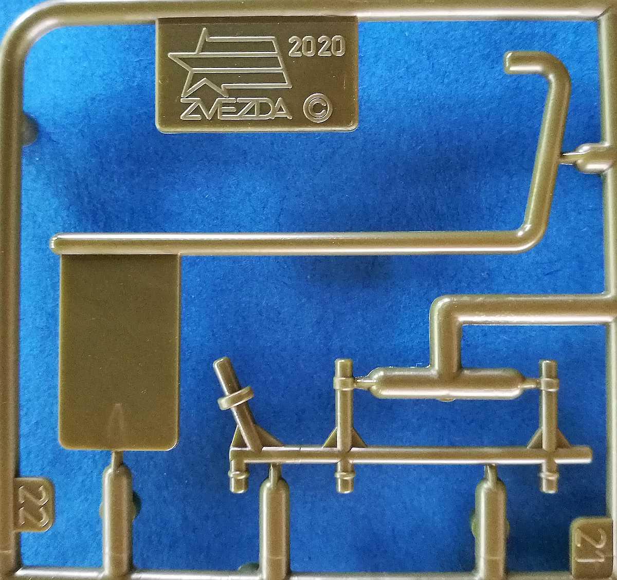 Zvezda-6247-T-28-1zu100-8 T-28 in 1:100 von Zvezda # 6247