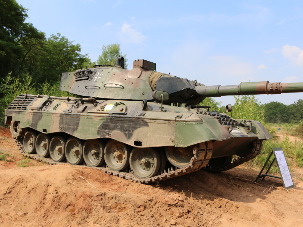 01 Leopard 1A5 1:35 Revell (#03320)
