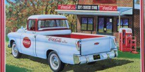 """AMT 1955 Chevrolet Cameo """"Coca Cola"""" in 1:25"""