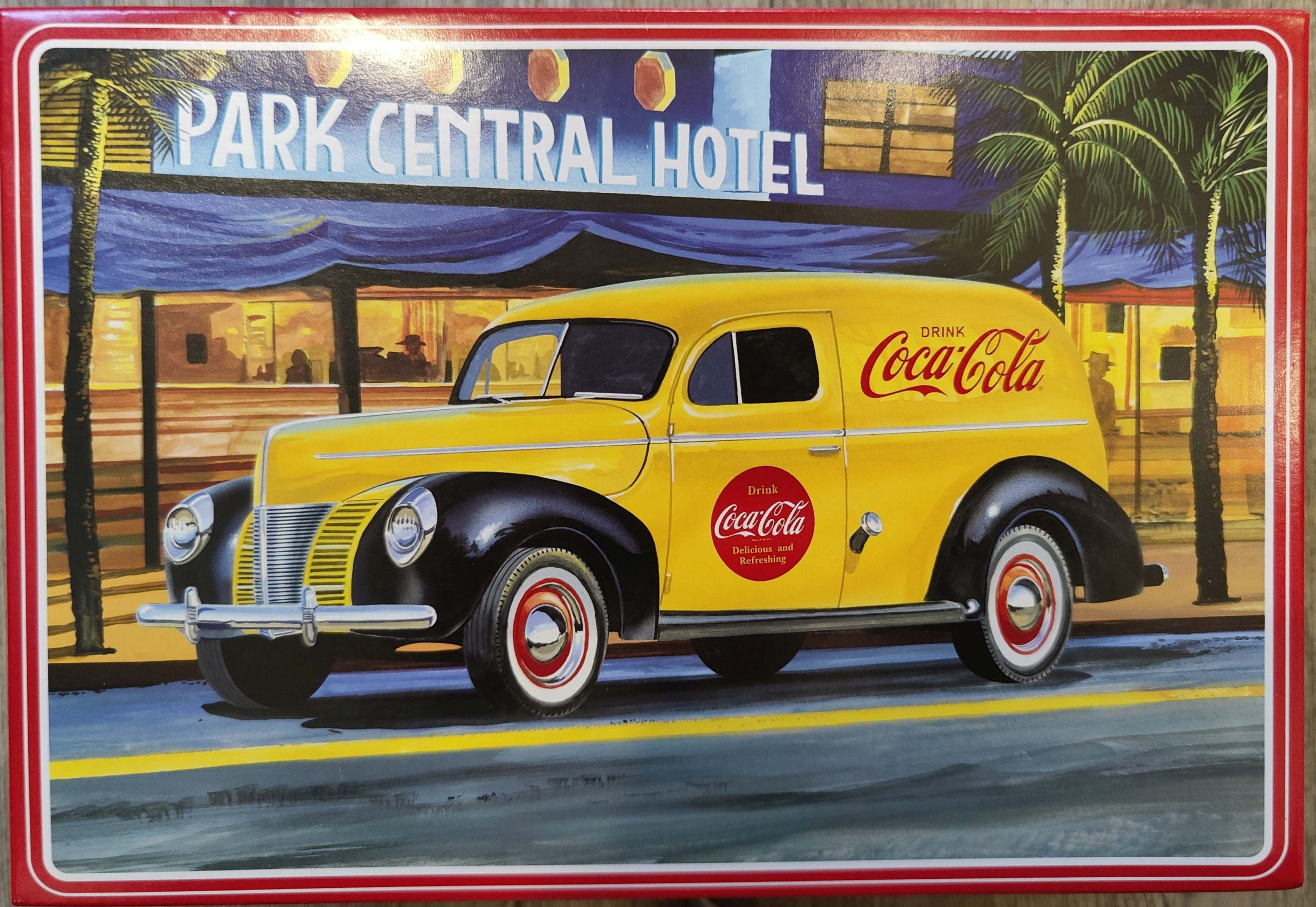 """AMT_Cola_Delivery02-scaled AMT Ford 1940 Sedan Delivery """"Coca Cola"""" in 1:25"""