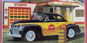 "AMT 1941 Plymouth Coupé ""Coca Cola"" in 1:25"