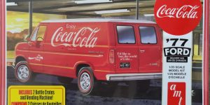"AMT 1977 Ford Delivery Van ""Coca Cola"" in 1:25"