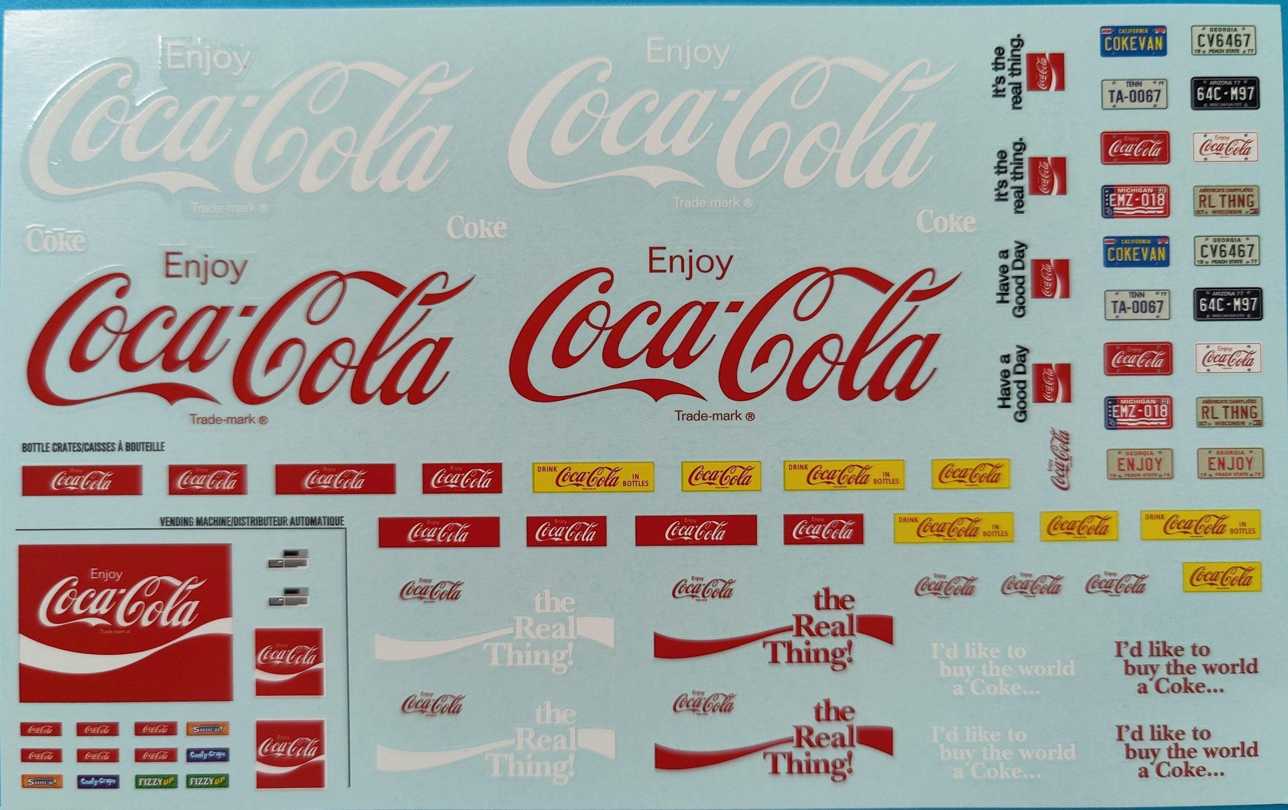 "AMT_Cola_van23-scaled AMT 1977 Ford Delivery Van ""Coca Cola"" in 1:25"