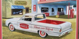 "1960 Ford Ranchero ""Coca Cola"" in 1:25 von AMT"