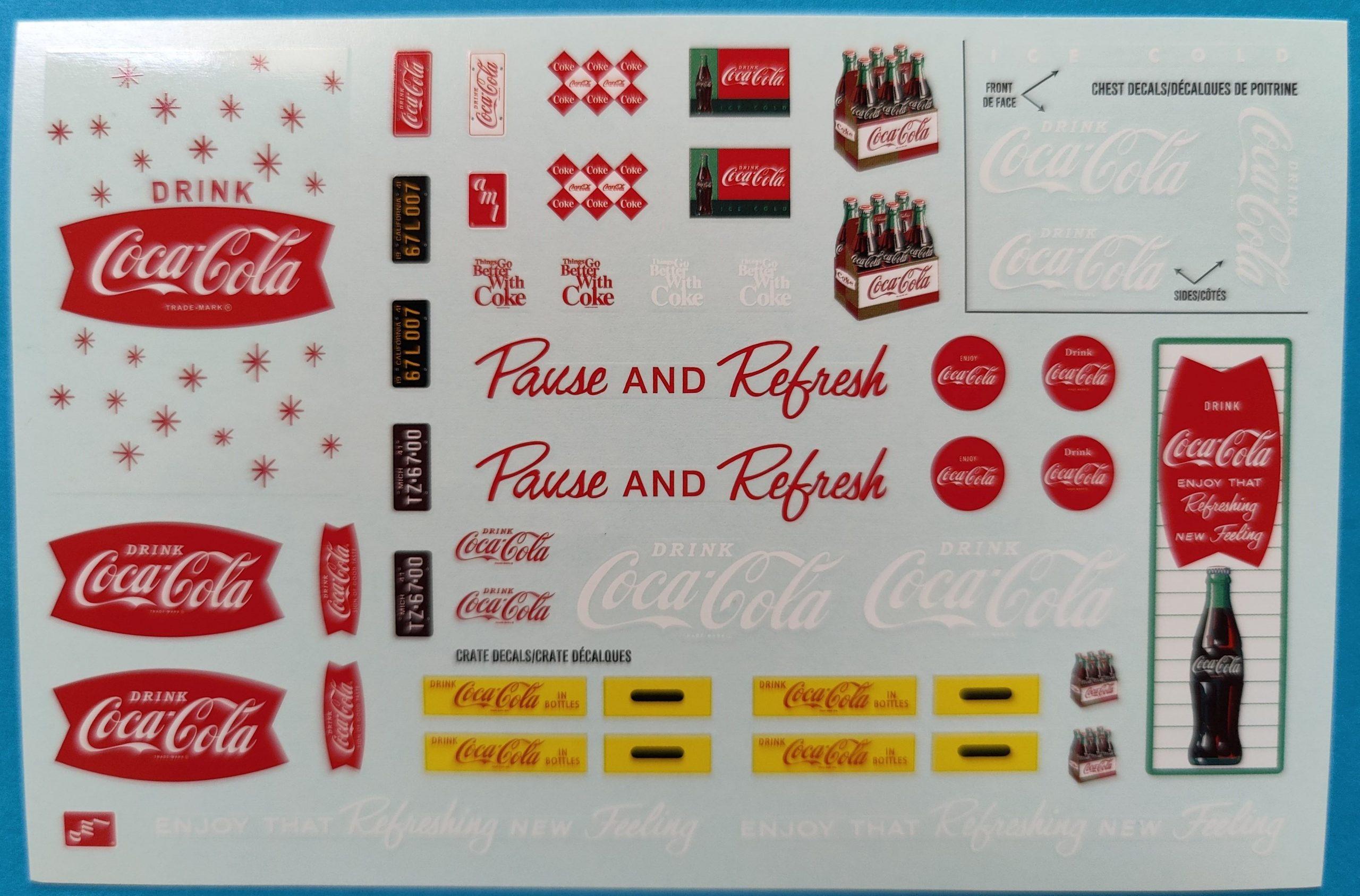 """AMT_cola_Ranchero20-scaled 1960 Ford Ranchero """"Coca Cola"""" in 1:25 von AMT"""