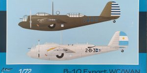 Azur B-10 Export WC/WAN in 1:72