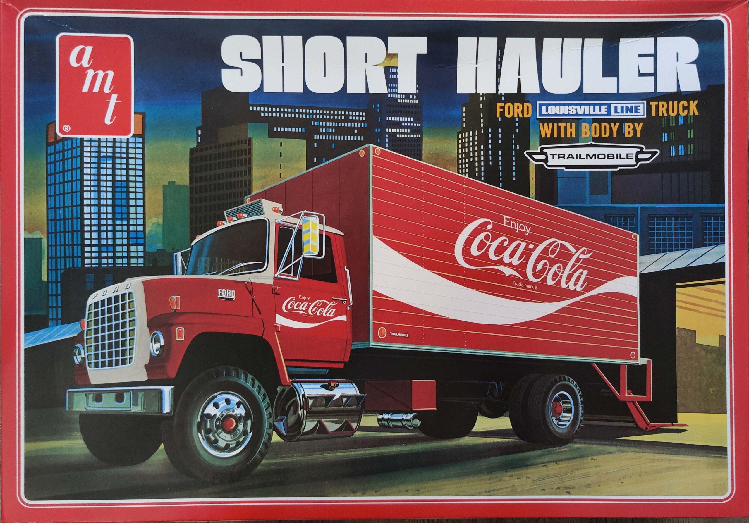 "Cola_Ford_Hauler02-scaled AMT Ford Louisville Short Hauler ""Coca Cola"" in 1:25"