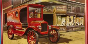 "AMT 1923 Ford T-Model Delivery Van ""Coca Cola"" in 1:25"