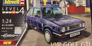 "VW Golf GTI ""Builder's Choice"" in 1:24 von Revell"