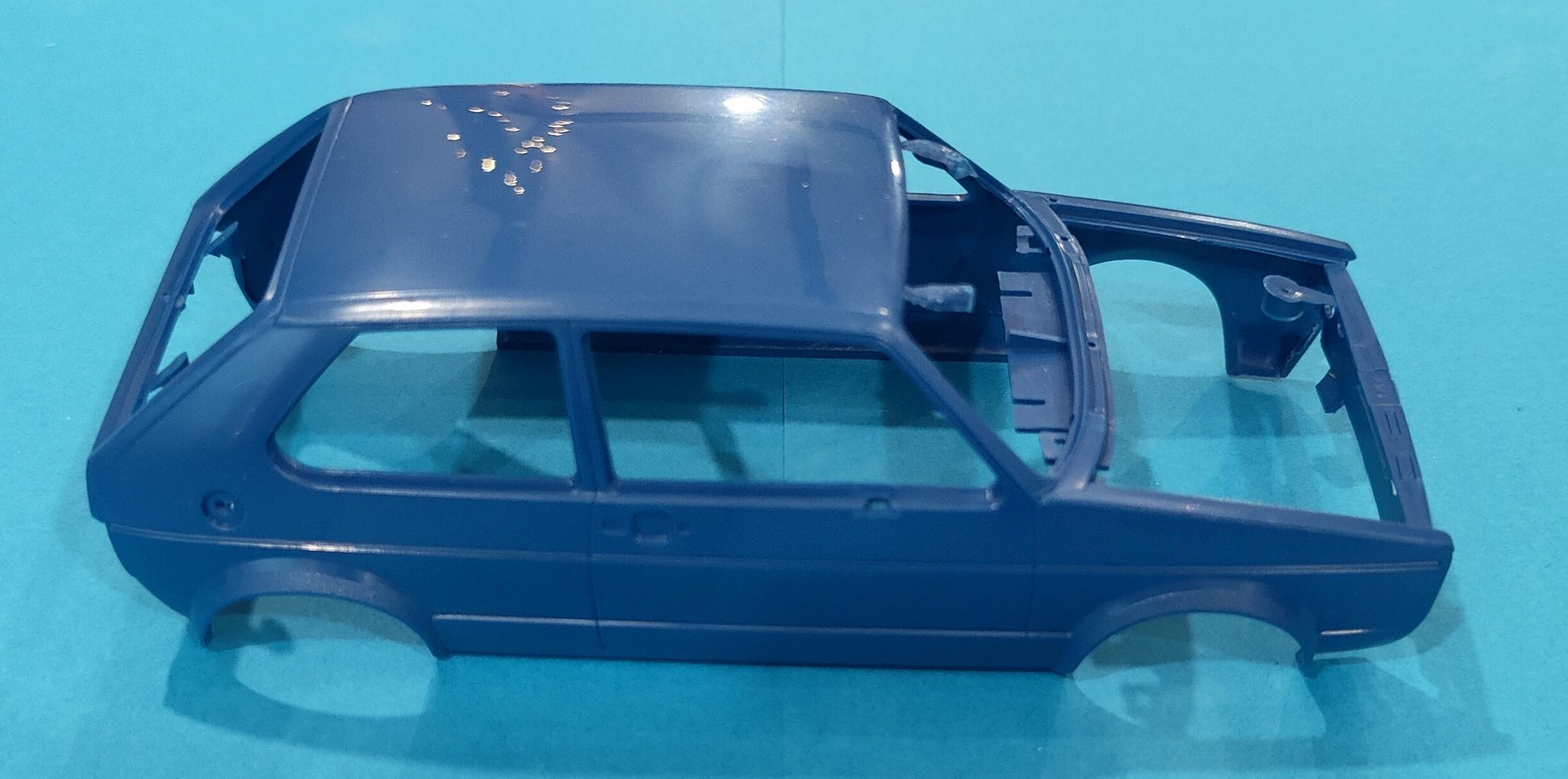 """Golf_Mod_Choice02 VW Golf GTI """"Builder's Choice"""" in 1:24 von Revell"""