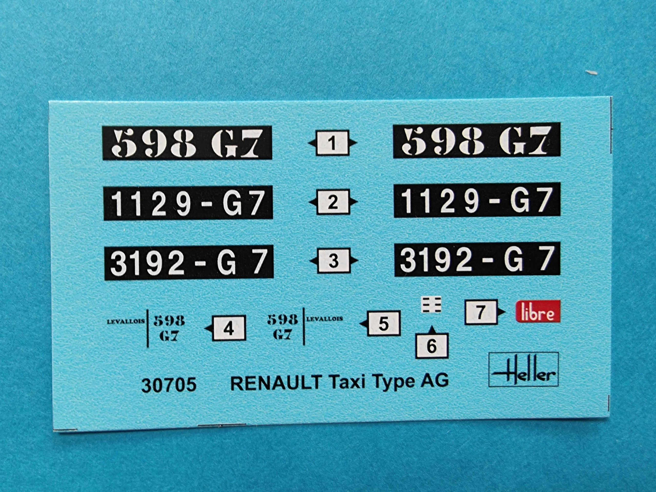 HEller_Rnault_taxi10-scaled Heller Renault Taxi Typ AG in 1:24
