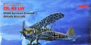 Fiat CR 42 Luftwaffe in 1:32 von ICM #32021