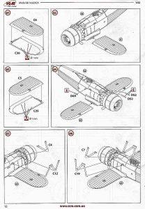 ICM-32021-Fiat-CR-42LW-Bauanleitung-12-208x300 ICM 32021 Fiat CR 42LW Bauanleitung (12)