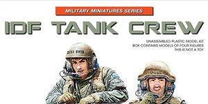 IDF Tank Crew in 1:35 von MiniArt #37067