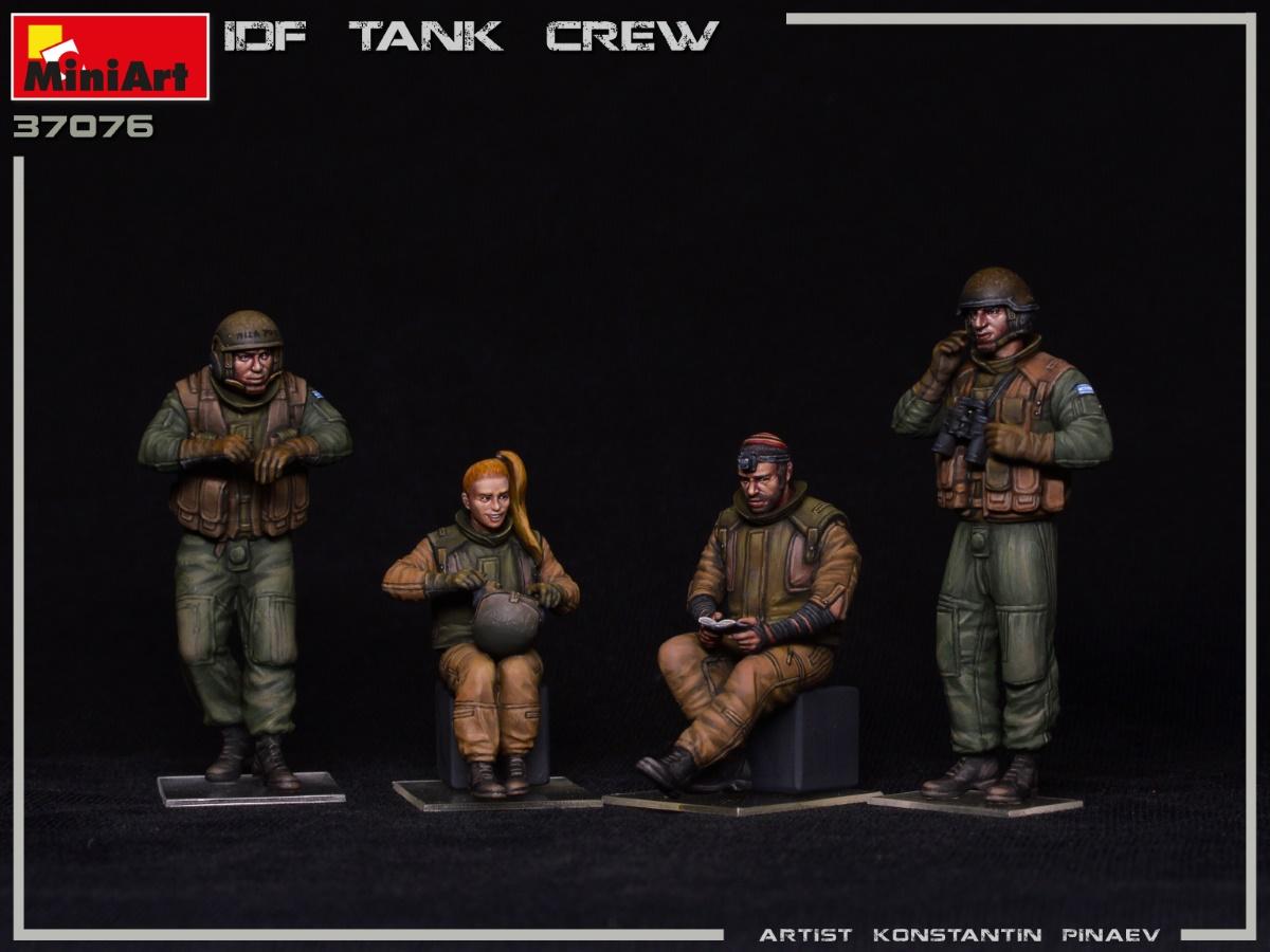 MIniArt-37067-IDF-Tank-Crew-2 IDF Tank Crew in 1:35 von MiniArt #37067