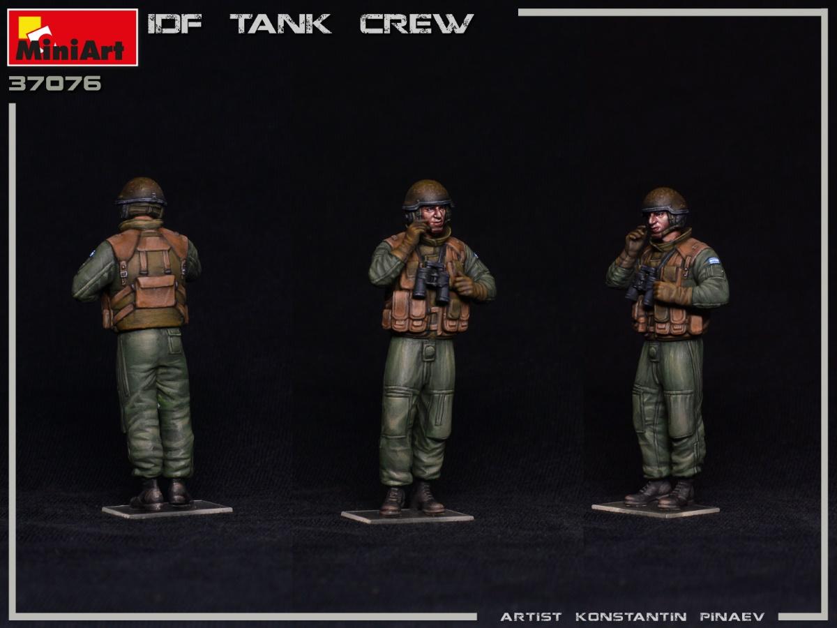 MIniArt-37067-IDF-Tank-Crew-5 IDF Tank Crew in 1:35 von MiniArt #37067