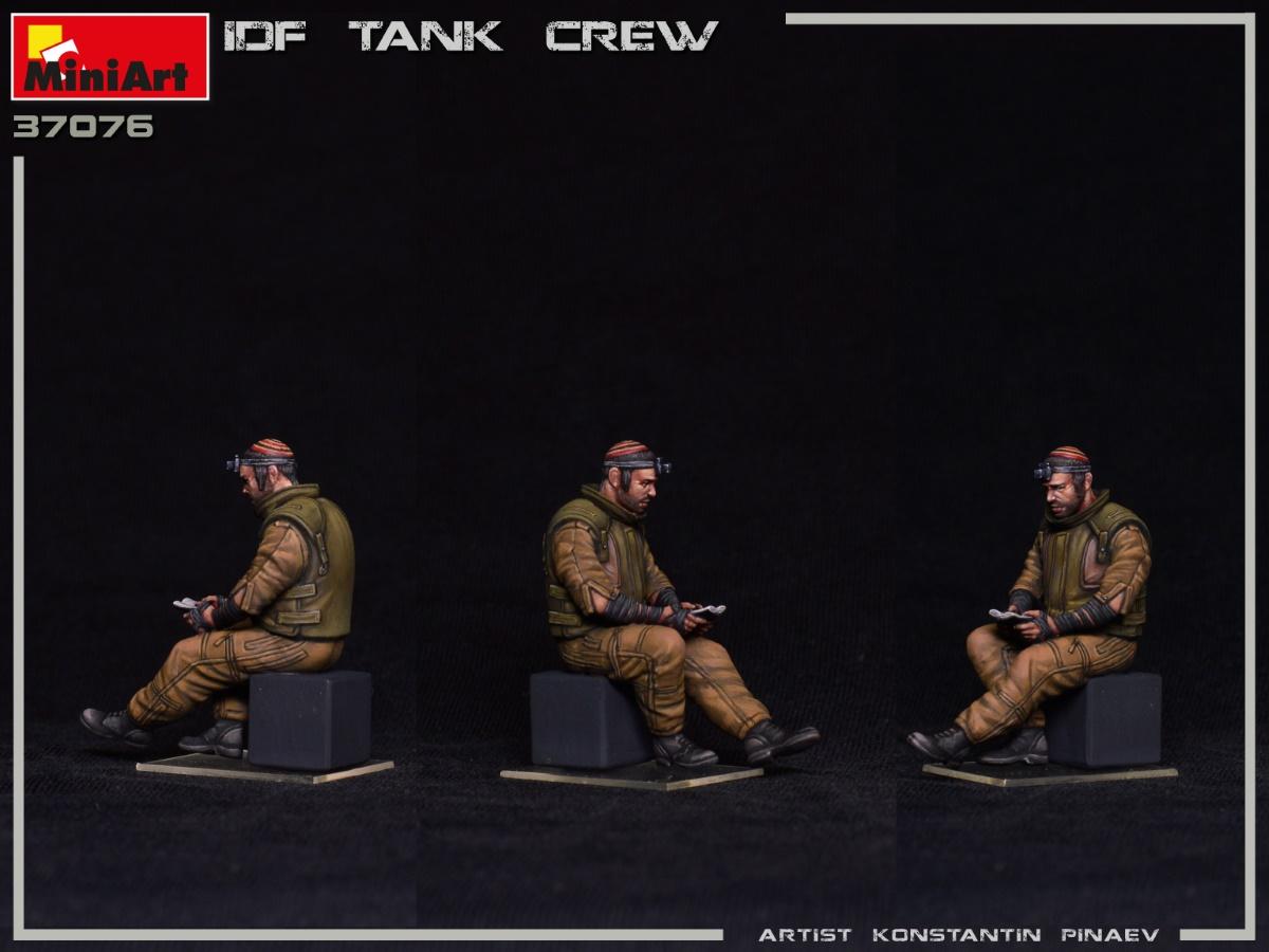 MIniArt-37067-IDF-Tank-Crew-6 IDF Tank Crew in 1:35 von MiniArt #37067