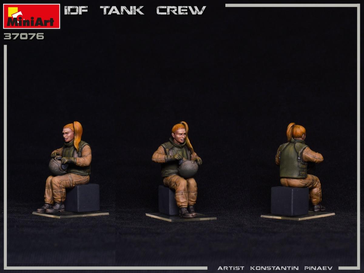MIniArt-37067-IDF-Tank-Crew-7 IDF Tank Crew in 1:35 von MiniArt #37067