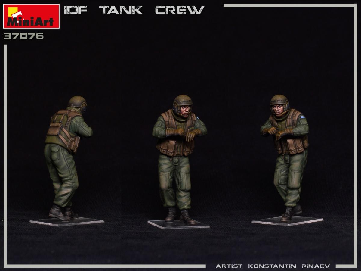 MIniArt-37067-IDF-Tank-Crew-8 IDF Tank Crew in 1:35 von MiniArt #37067