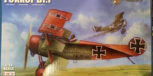 Fokker Dr. I in 1:24 von Merit