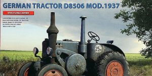 German Agricultural Tractor D 8506 Model 1937 in 1:35 von MiniArt # 39029