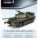 Revell-03328-T-55-mit-KMT-Bauanleitung-1-150x150 T-55 A/AM mit KMT Minenräumer in 1:72 von Revell # 03328