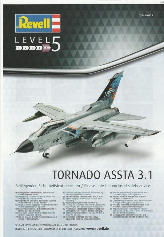 Revell-03849-Tornado-ASSTA-3-64 Revells Tornado ASSTA 3.1 in 1:48 #03849