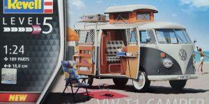 Revell VW T1 Camper Westfalia in 1:24 #07674
