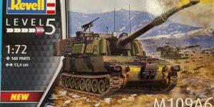 Panzerhaubitze M109A6 in 1:72 von Revell #03331
