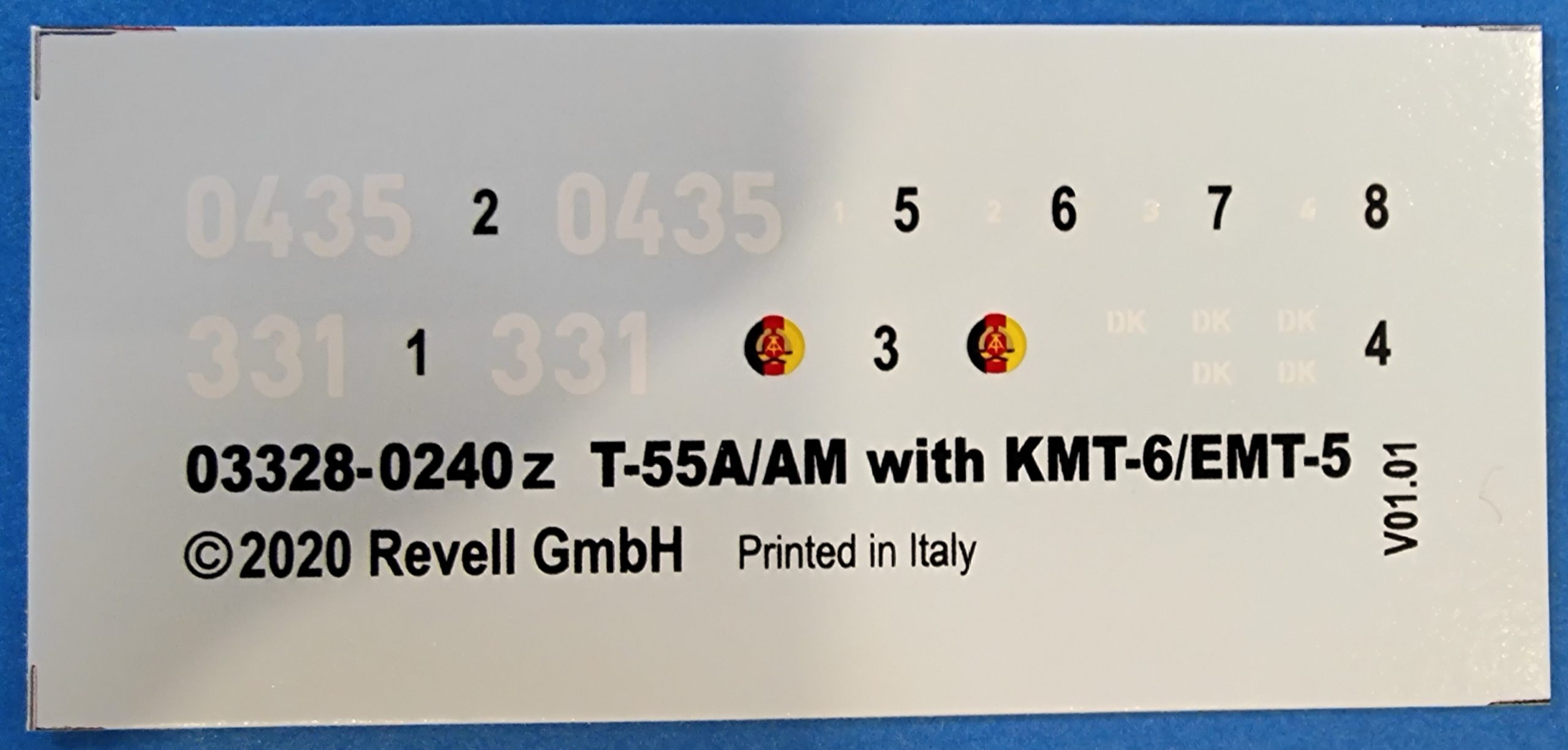 Revell_T55A_AM01-scaled T-55 A/AM mit KMT Minenräumer in 1:72 von Revell # 03328