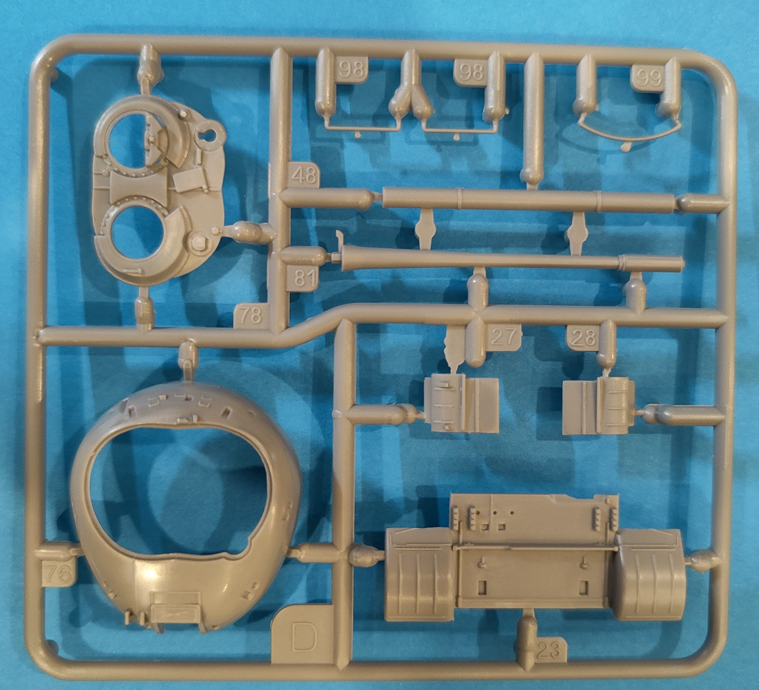 Revell_T55A_AM04 T-55 A/AM mit KMT Minenräumer in 1:72 von Revell # 03328