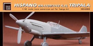 Hispano HA-1109/1112 K.1L Tripala in 1:48 von SBS #48060