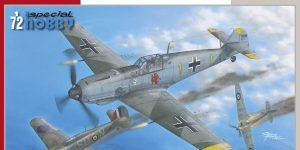Messerschmitt BF 109E in 1:72 von Special Hobby #SH 72439