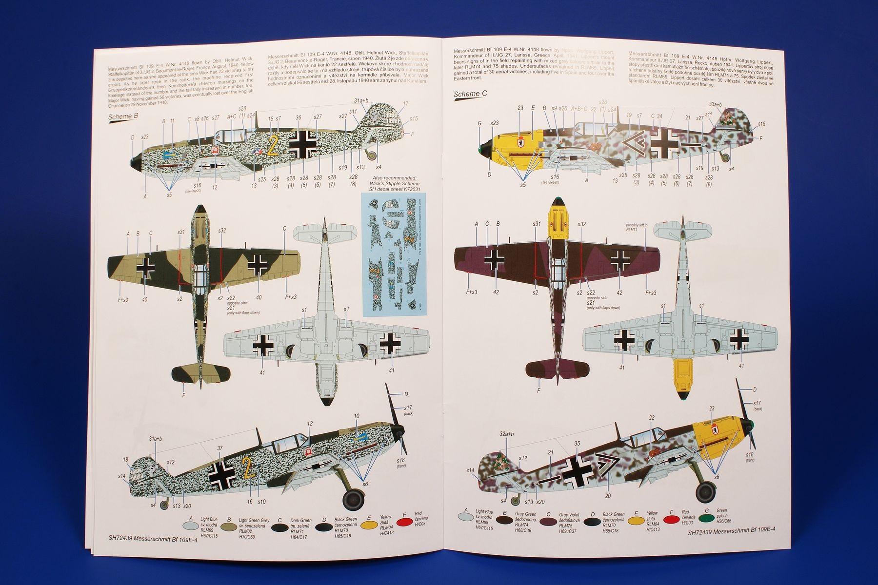Special-Hobby-SH-72439-Bf-109E-Ankuendigung-2 Messerschmitt BF 109E in 1:72 von Special Hobby #SH 72439